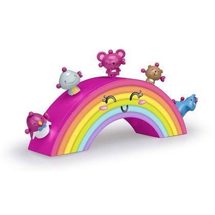 Ziwies. arco iris con 5 figuras - 13006420