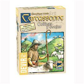 Carcassone colinas y ovejas
