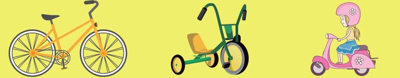 Bicicletas, Motos, Triciclos
