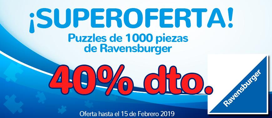 Promo 40% descuento puzzle Ravensburger